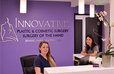 San Diego Hand Surgery's reception - Welcome image